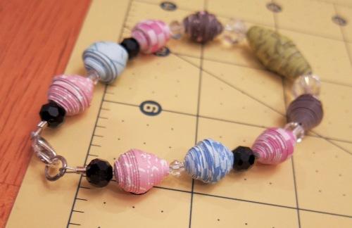 Paper Bead step 4