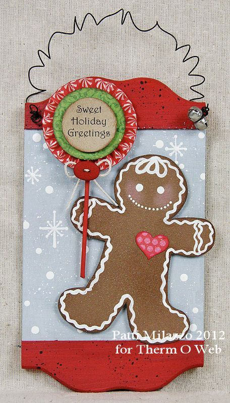 """Sweet Holiday Greetings"""" from Therm OWeb"""