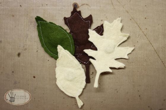 tammytutterow felt magnetic leaves 7