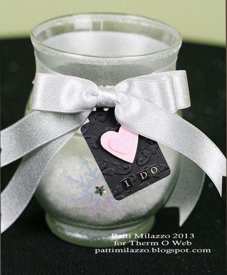 1 2013 Winter Votive Vase 1