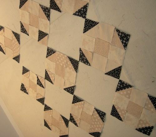 authentic quilt in progress 1
