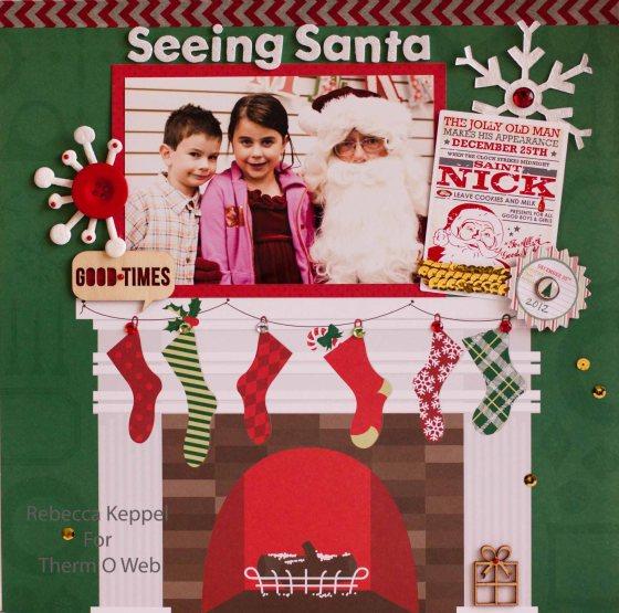 rk seeing santa