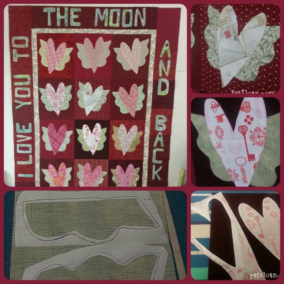 PAT SLOAN TO THE MOON COLLAGE