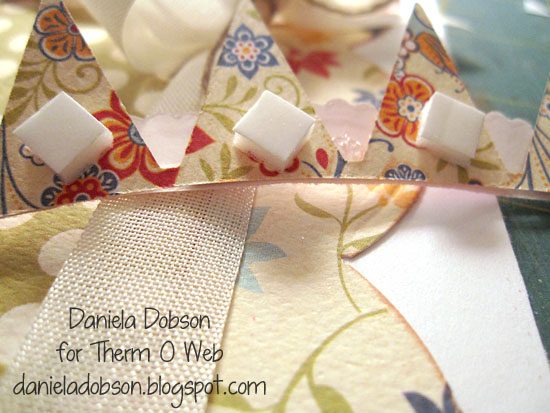 Step 4 Daniela Dobson Therm O Web 3D Foam Adhesive