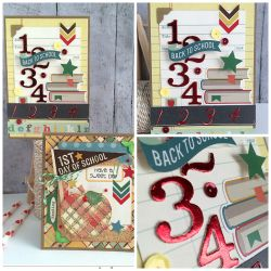 Daniela Dobson Deco foil Back To School Cards